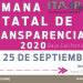 INSTITUTO DE TRANSPARENCIA DE BAJA CALIFORNIA INVITA A LA SEMANA ESTATAL DE TRANSPARENCIA 2020